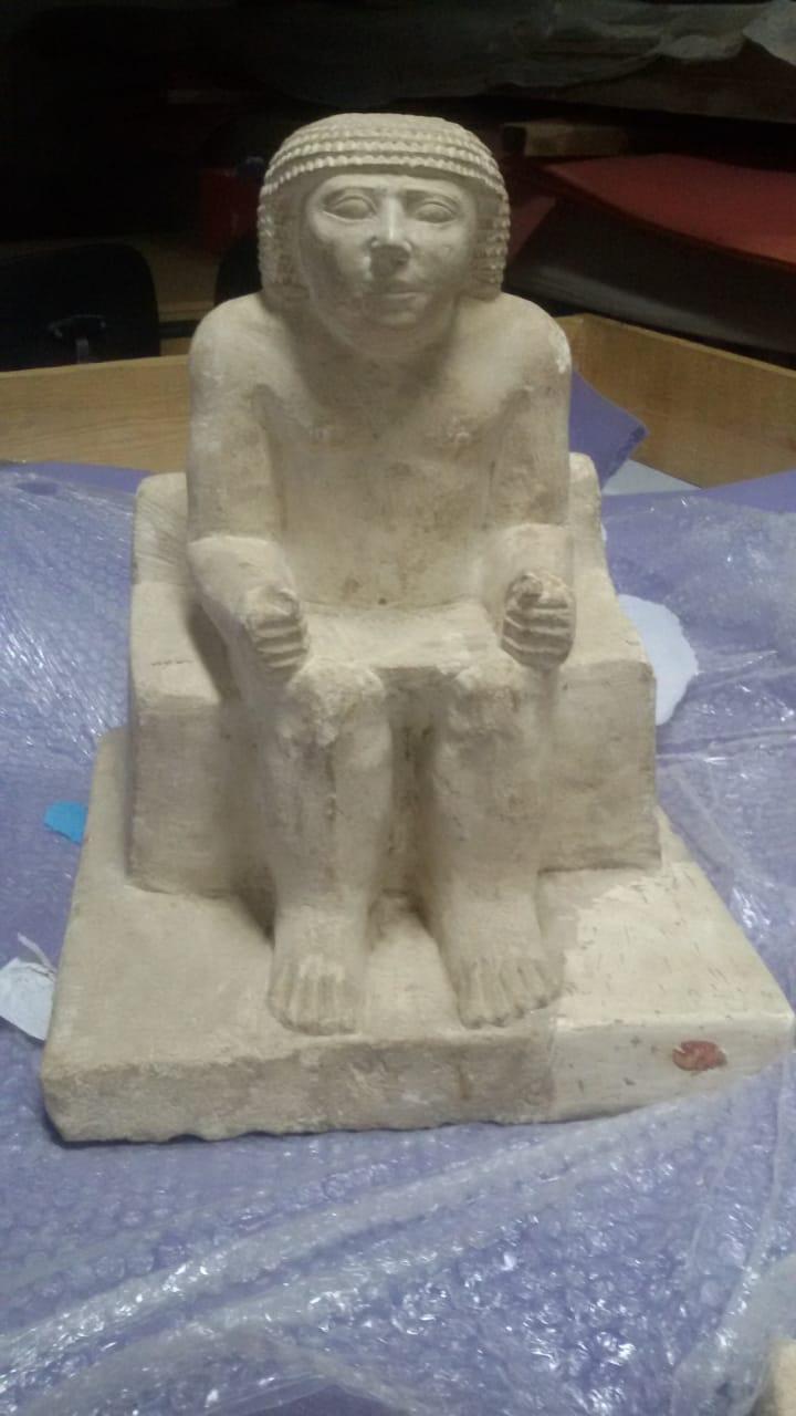 الحضارة يستقبل القطع الأثرية (3)