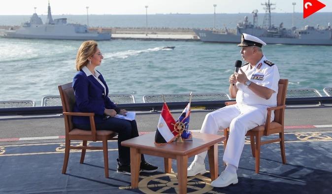 الفريق أحمد خالد قائد القوات البحرية (2)
