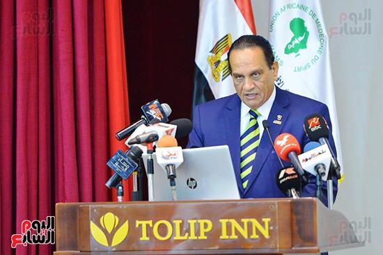 تكريم الدول الافريقية بالمركز الاولمبى (139)