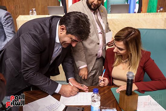 انتخابات البرلمان العربى (130)