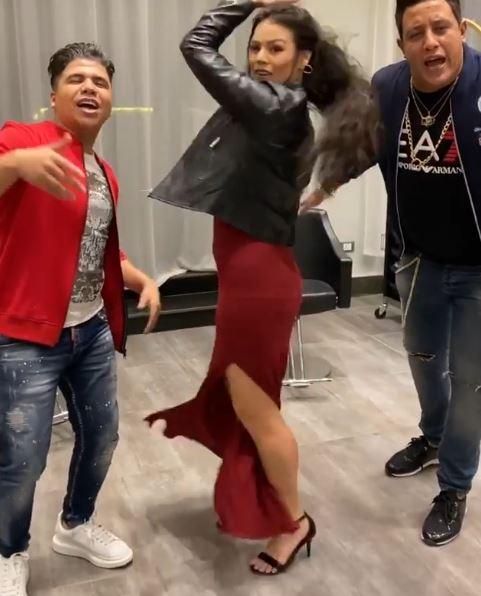 الراقصة البرازيلية لورديانة ترقص على أنغام أنتي معلمة