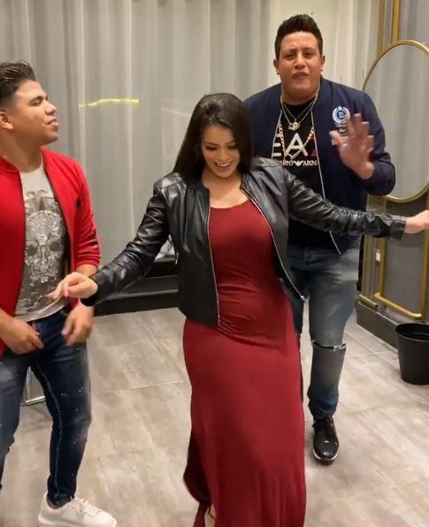 جانب من رقص لورديانة مع حمو بيكا وعمر كمال