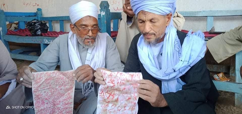 أعمال سحرية بمقابر قرى الأقصر (2)