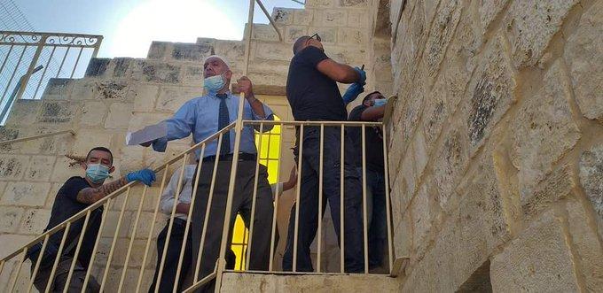 اعتقال نائب مدير اوقاف القدس