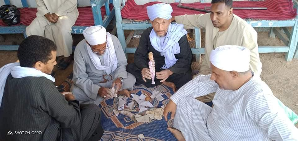 أعمال سحرية بمقابر قرى الأقصر (1)
