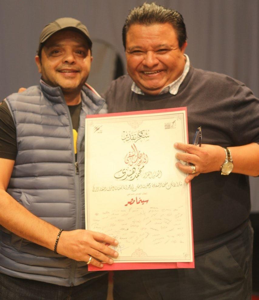 محمد هنيدى وخالد جلال