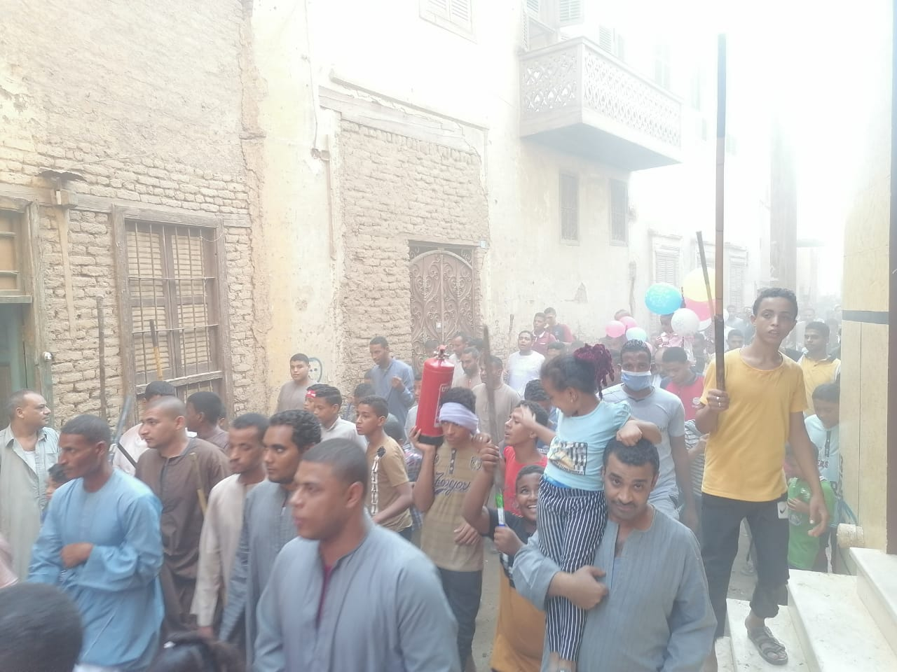 المئات من المسلمين والأقباط يحتفلون بالمولد النبوى (5)