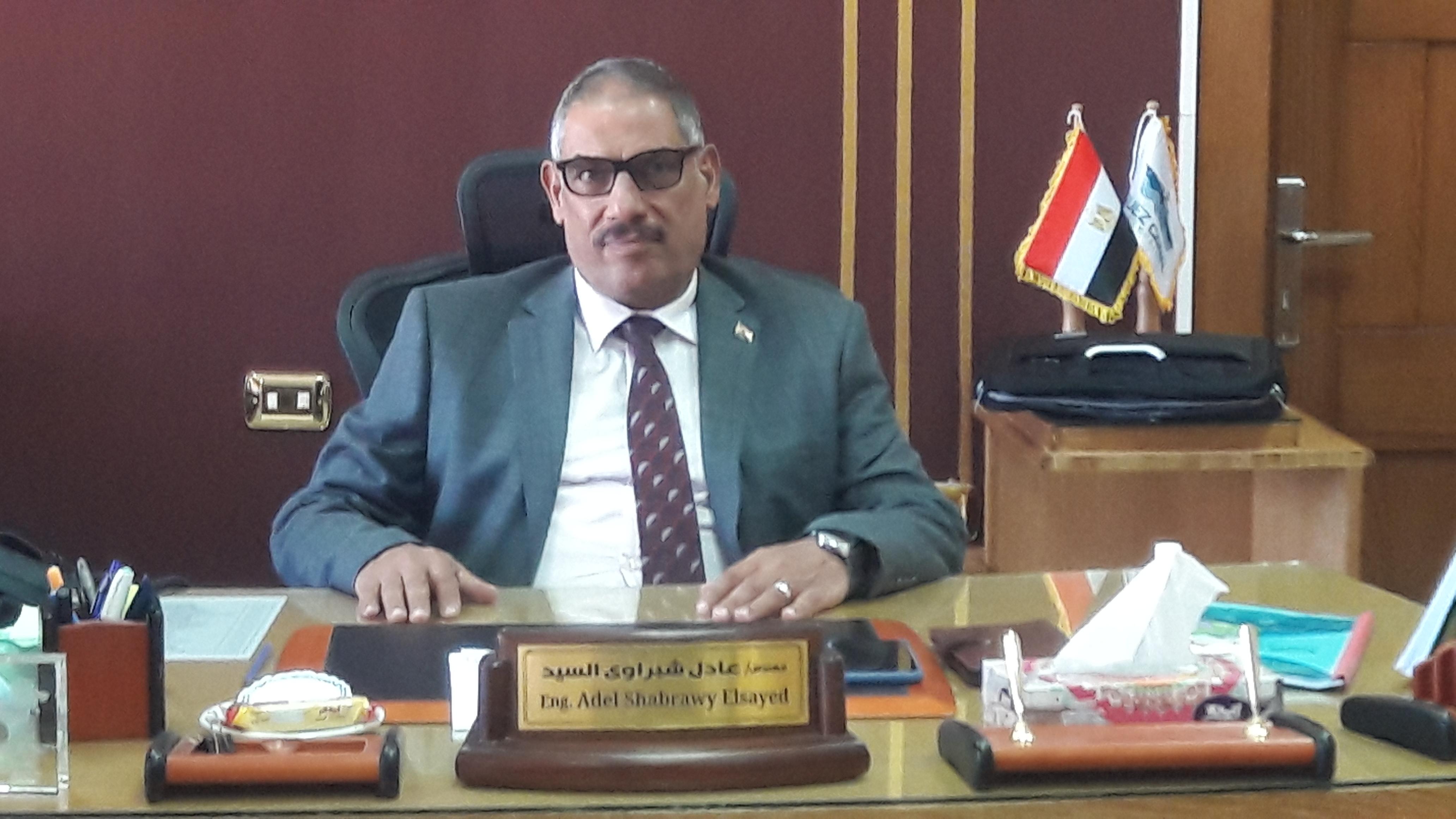 المهندس عادل الشبرواى رئيس ترسانات هيئة قناة السويس