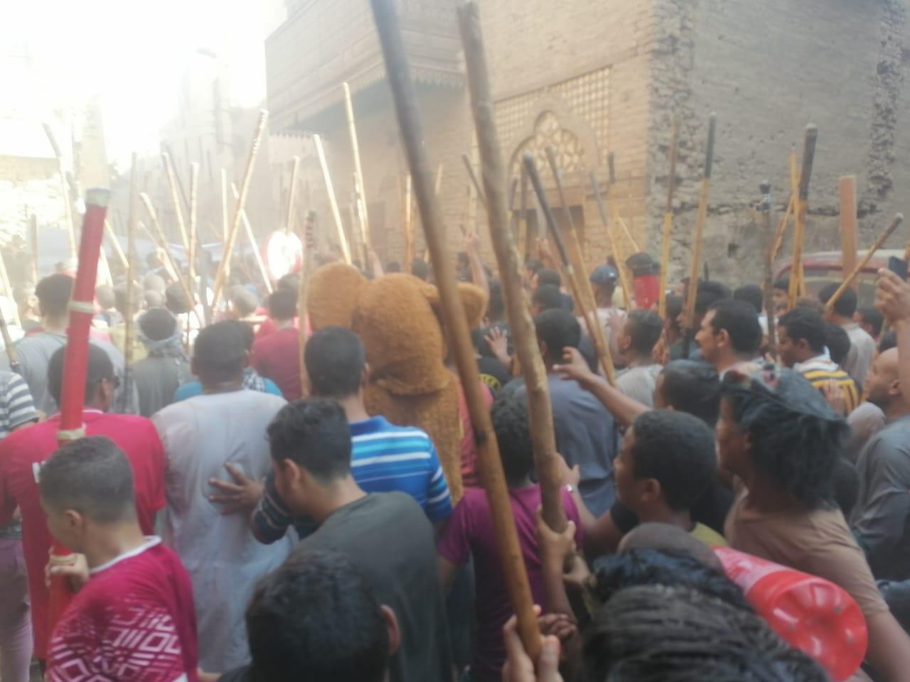 المئات من المسلمين والأقباط يحتفلون بالمولد النبوى (10)