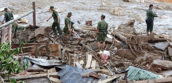 جانب من الفيضانات (2)