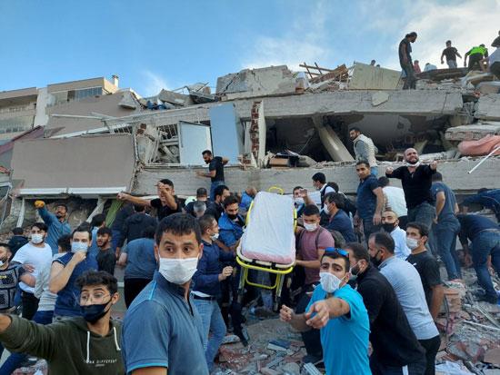 زلزال تركيا (2)