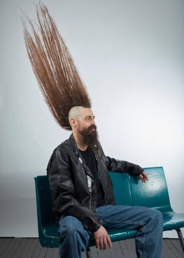 اطول قصة شعر في العالم