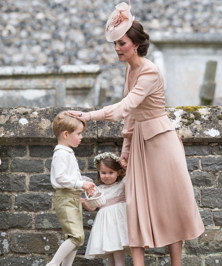 كيت مع أطفالها