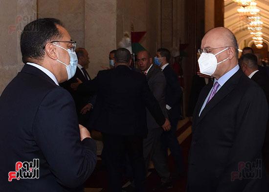 رئيس جمهورية العراق يستقبل رئيس الوزراء (6)