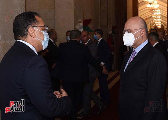 رئيس جمهورية العراق يستقبل رئيس الوزراء (7)