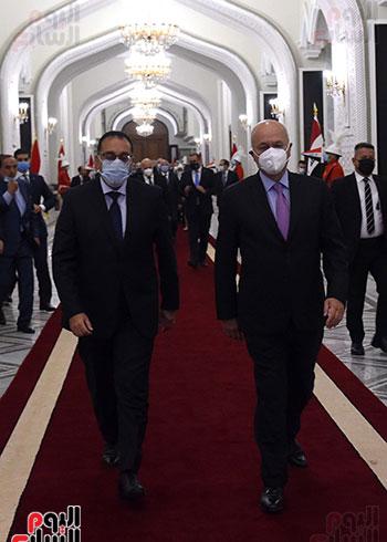 رئيس جمهورية العراق يستقبل رئيس الوزراء (5)
