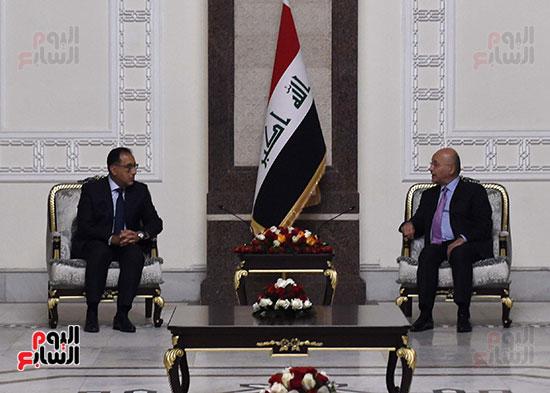 رئيس جمهورية العراق يستقبل رئيس الوزراء (3)