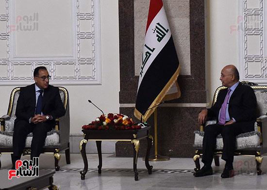 رئيس جمهورية العراق يستقبل رئيس الوزراء (1)