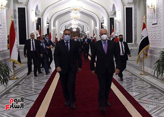 رئيس جمهورية العراق يستقبل رئيس الوزراء (4)