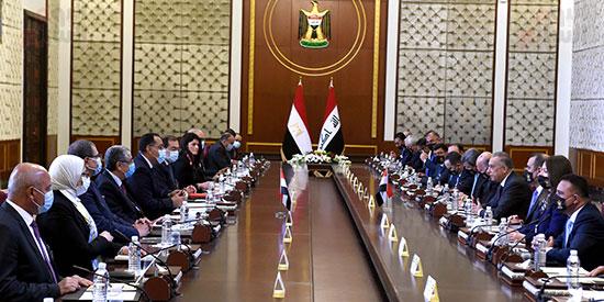 افتتاح أعمال اللجنة المصرية العراقية العليا المشتركة في بغداد (1)