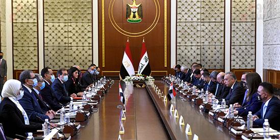 افتتاح أعمال اللجنة المصرية العراقية العليا المشتركة في بغداد (4)