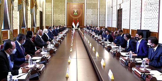 افتتاح أعمال اللجنة المصرية العراقية العليا المشتركة في بغداد (3)