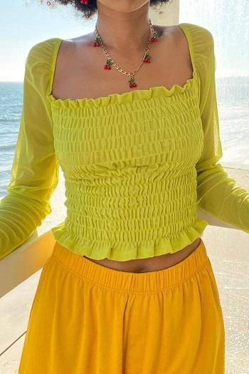 موضة الملابس الملونة