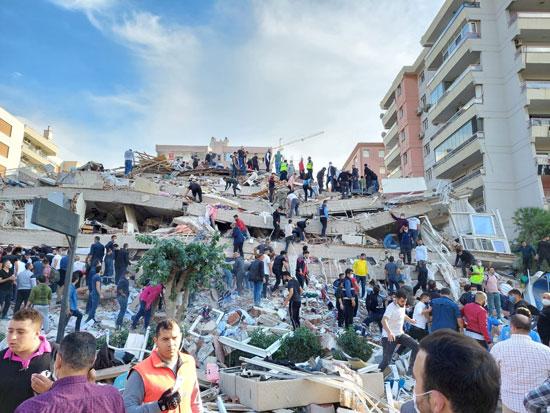 أثار زلزال تركيا