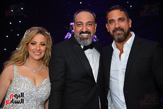 امير كرارة فى حفل زفاف عماد صفوت