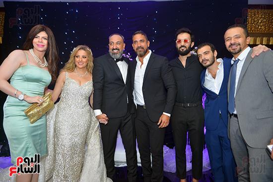 نجوم الفن فى حف زفاف عماد صفوت