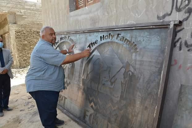 مشروع إحياء مسار العائلة المقدسة قومى عملاق على أرض المنيا (3)