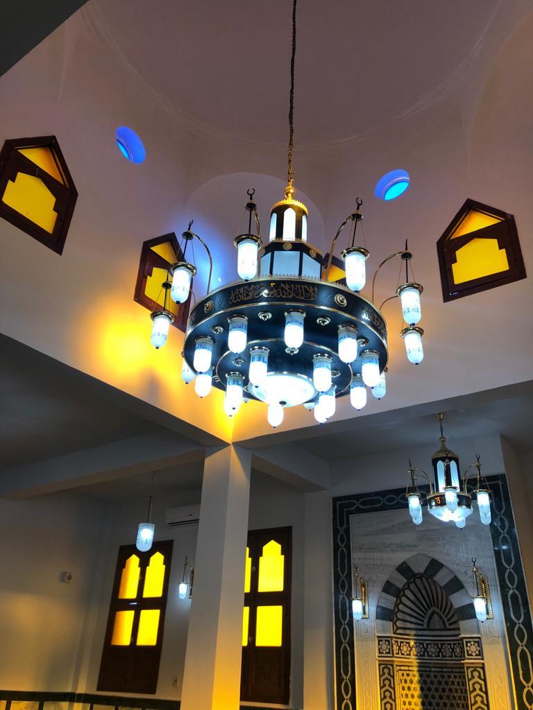 مسجد الشهيد احمد المنسي من الداخل
