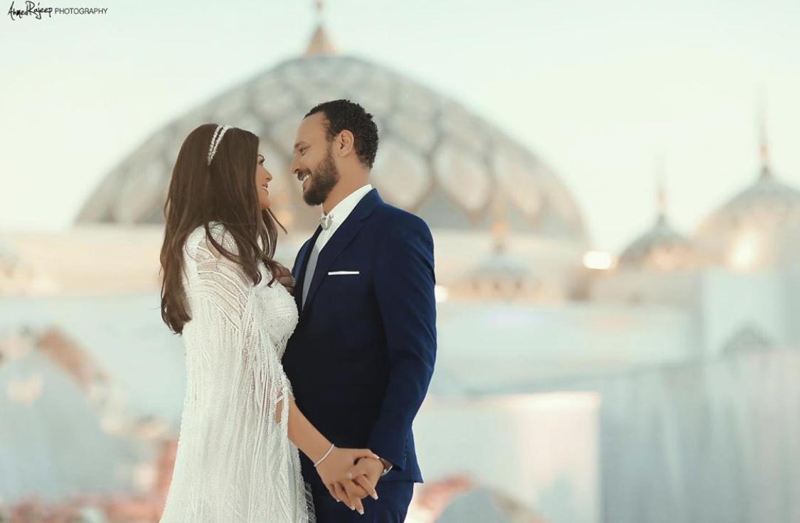 احمد خالد صالح وهنادي مهنى