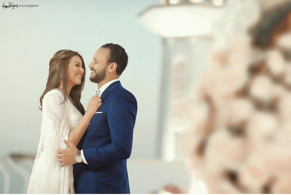 صور زفاف هندى مهنا وأحمد خالد صالح