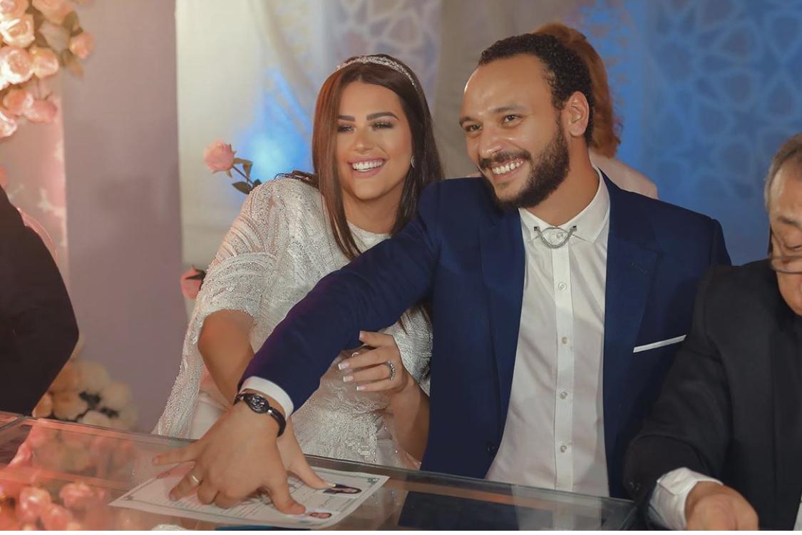 زفاف هندى مهنا وأحمد خالد صالح