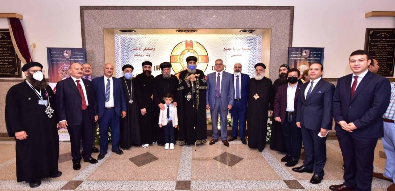 تدشين كنيسة العذراء ببشاير الخير (9)