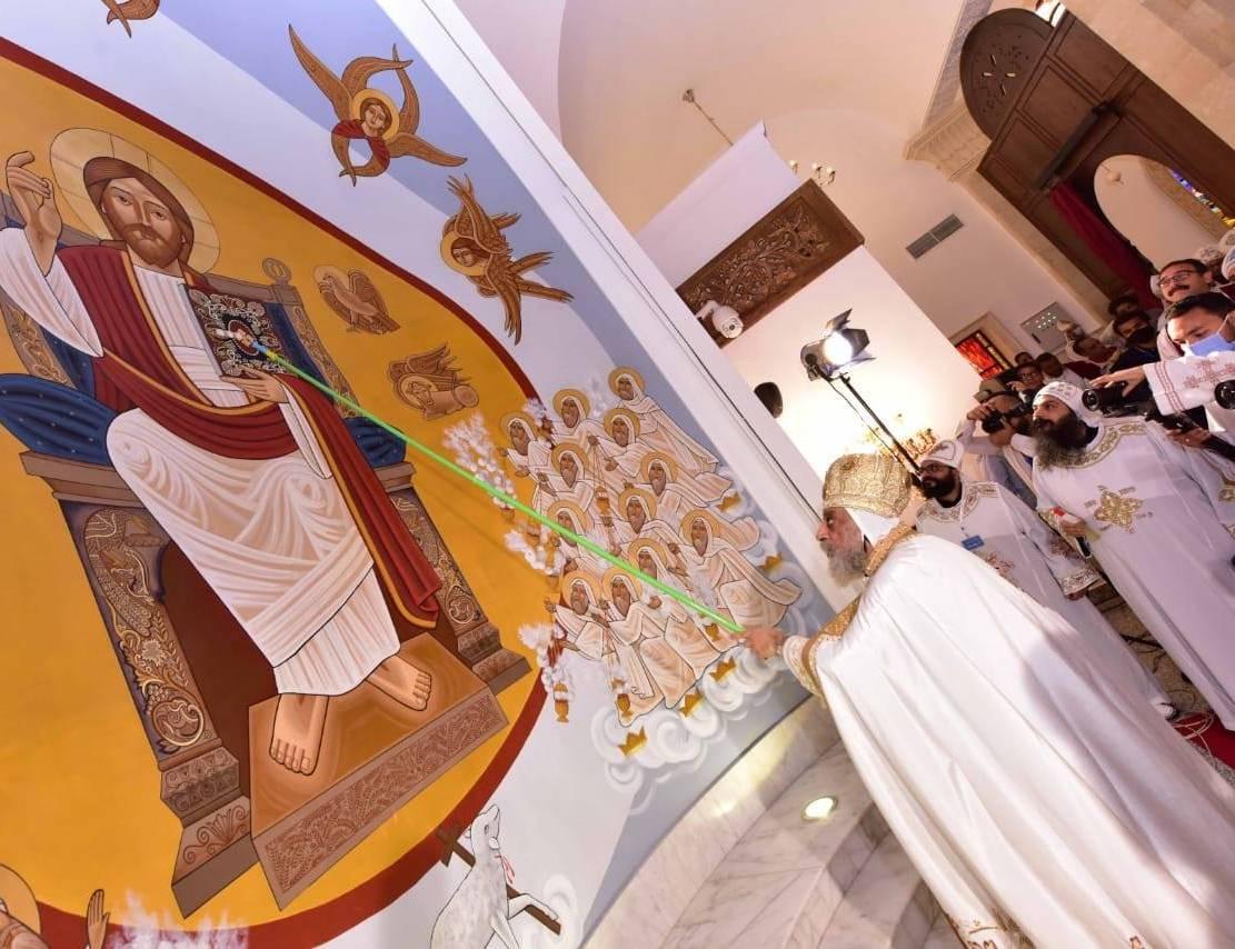 تدشين كنيسة العذراء ببشاير الخير (2)