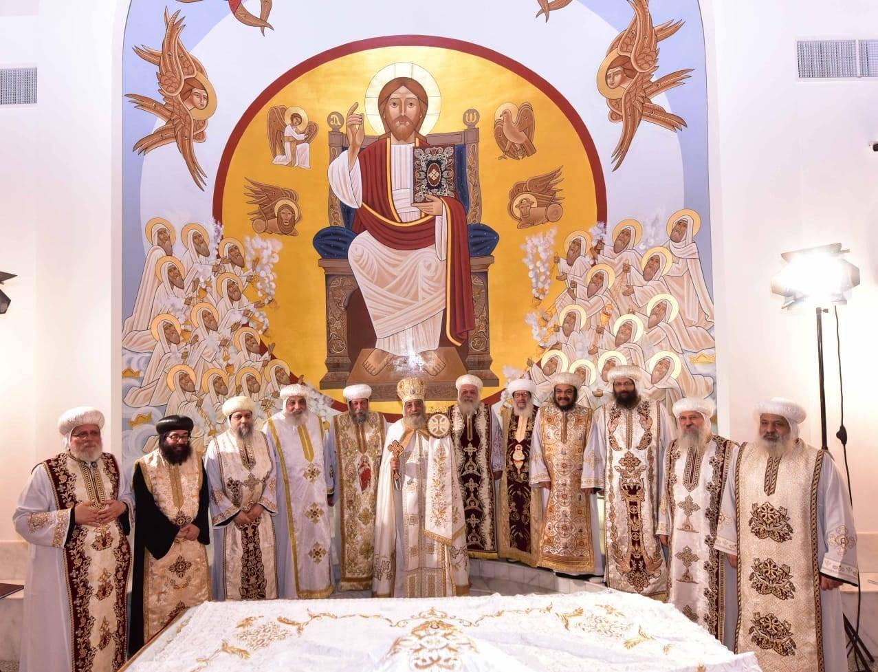 تدشين كنيسة العذراء ببشاير الخير (5)