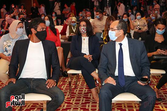 آسر ياسين وخالد عبد الجليل