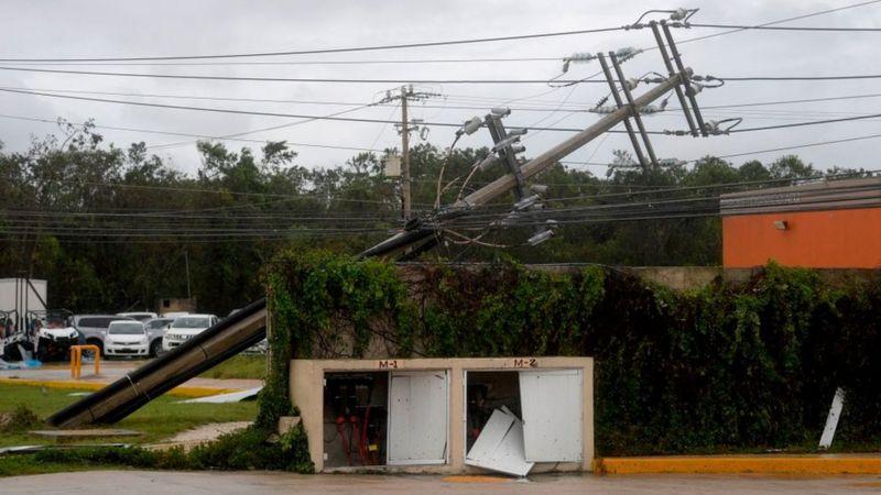 المكسيك واعصار الدلتا