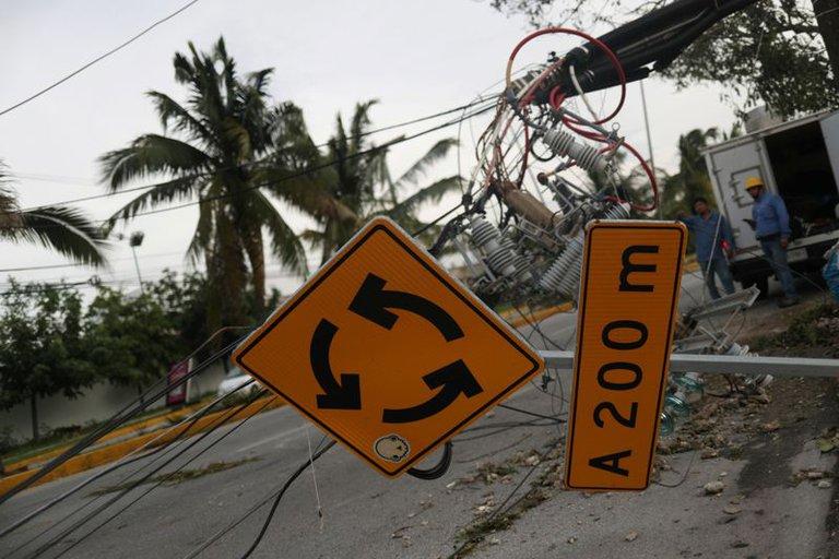 اعصار دلنا فى المكسيك