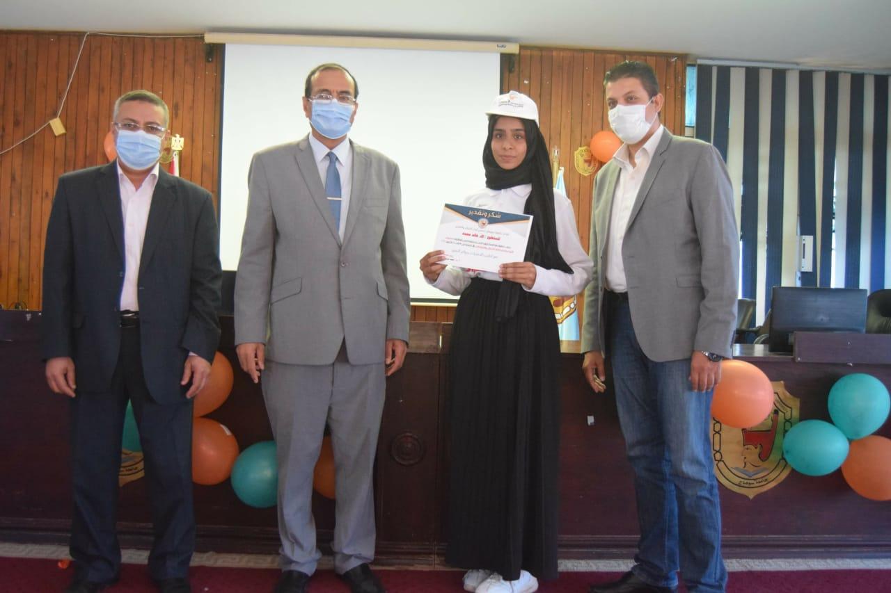 حفل ختام فعاليات أسبوع التوعية بمخاطر الإدمان بسوهاج (2)