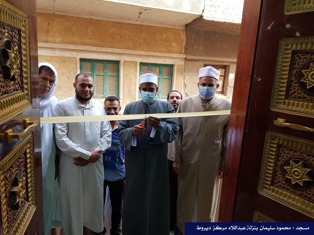 افتتاح 9 مساجد جديدة فى محافظة أسيوط (1)