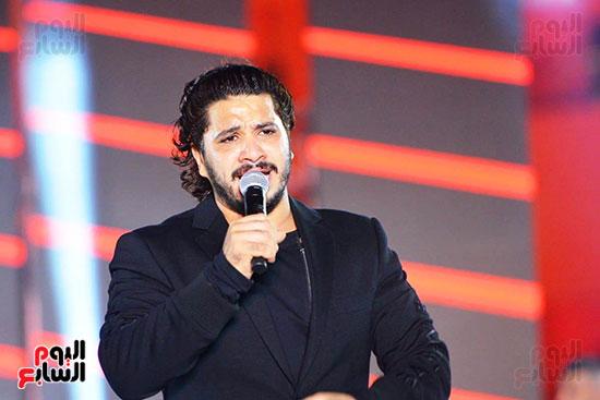 مصطفى حجاج على مسرح الجلالة