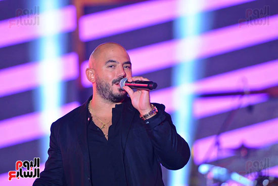 محمود العسيلى على مسرح الجلالة