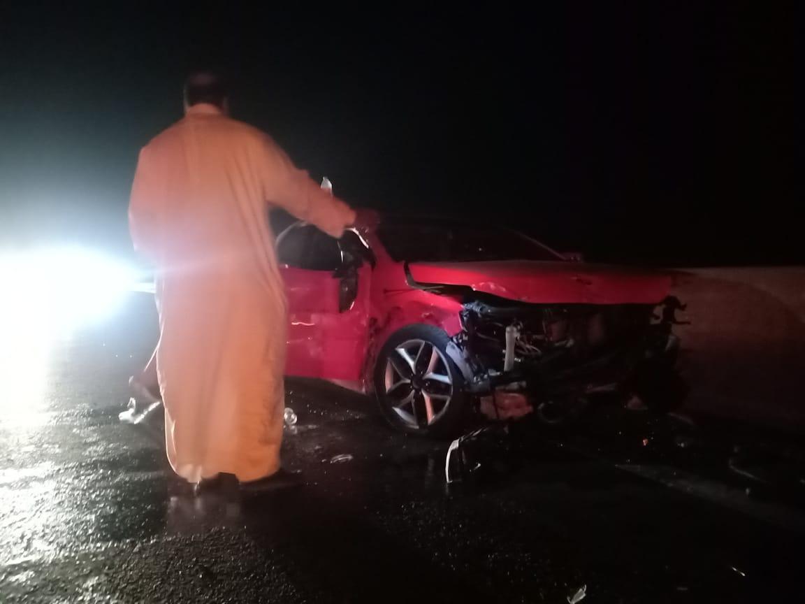 جانب من الحادث (1)