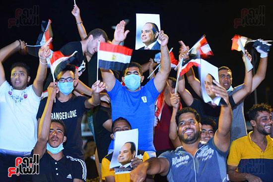 جمهور حفل نصر أكتوبر