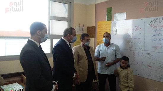 محافظ كفر الشيخ يفتتح 4 مدارس جديدة (7)