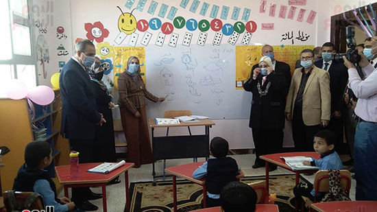 محافظ كفر الشيخ يفتتح 4 مدارس جديدة (3)