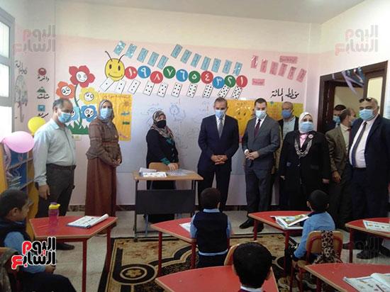 محافظ كفر الشيخ يفتتح 4 مدارس جديدة (1)